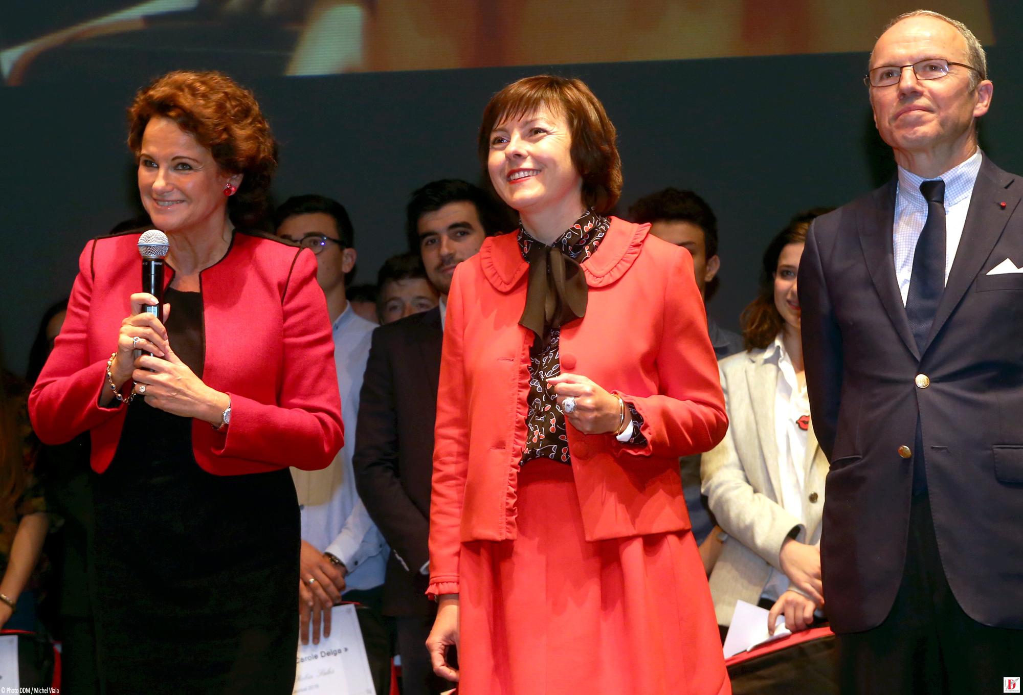 MF Marchand-Baylet, Carole Delga, Présidente de la Région Occitanie, Pascal Mailhos, Préfet de Région