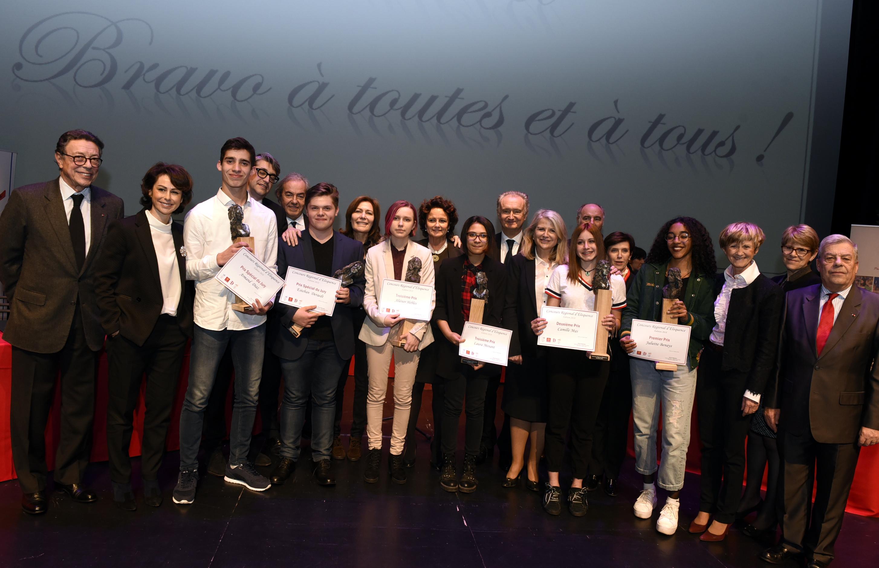 Concours Régional d'Éloquence 2018