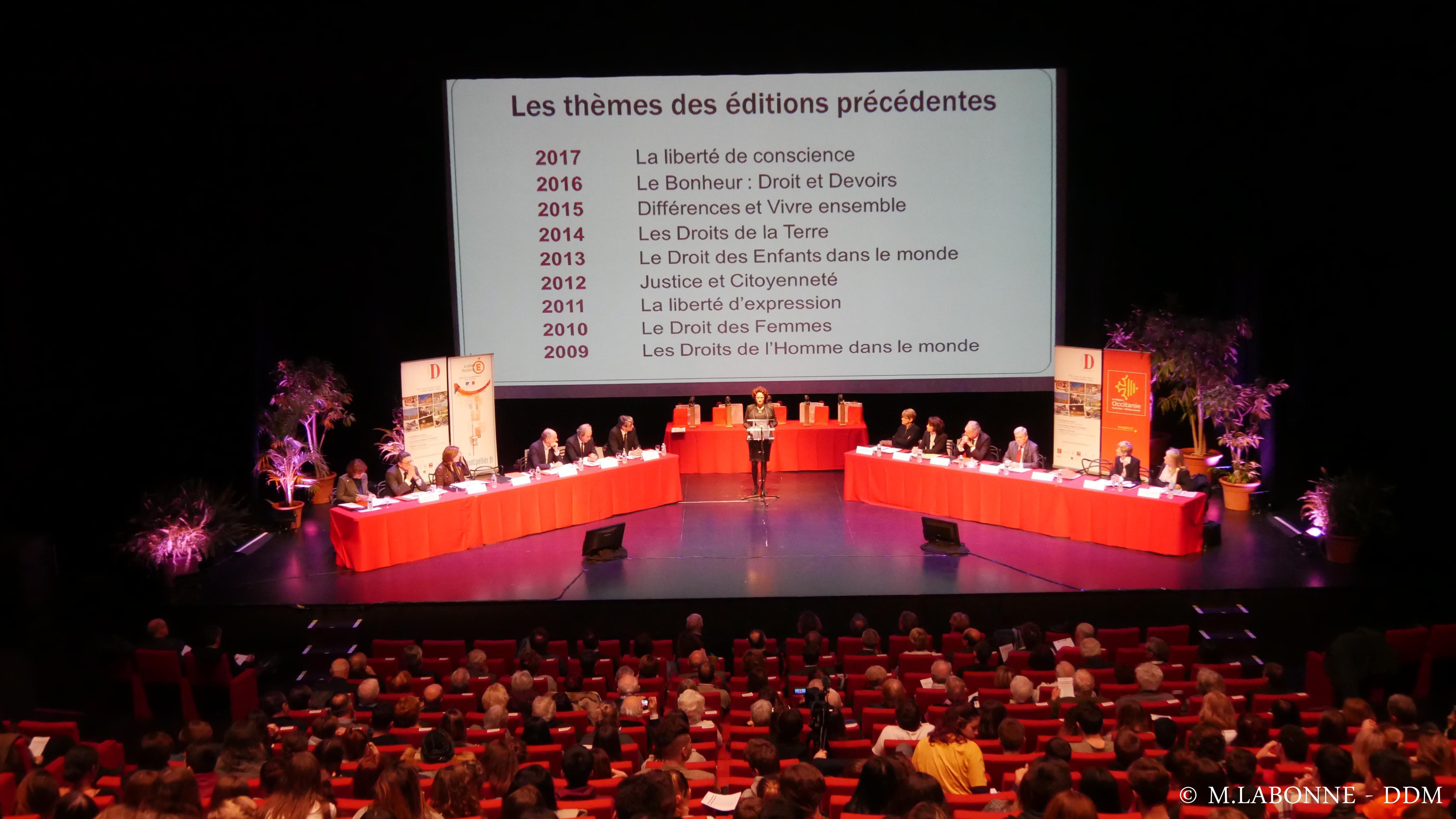 DDM-MICHEL LABONNE- EDITION 2018 DU CONCOURS REGIONAL D'ELOQUENCE SUR LE THEME  -LA REPUBLIQUE  AU GRAND THEATRE DES CORDELIERS A ALBI