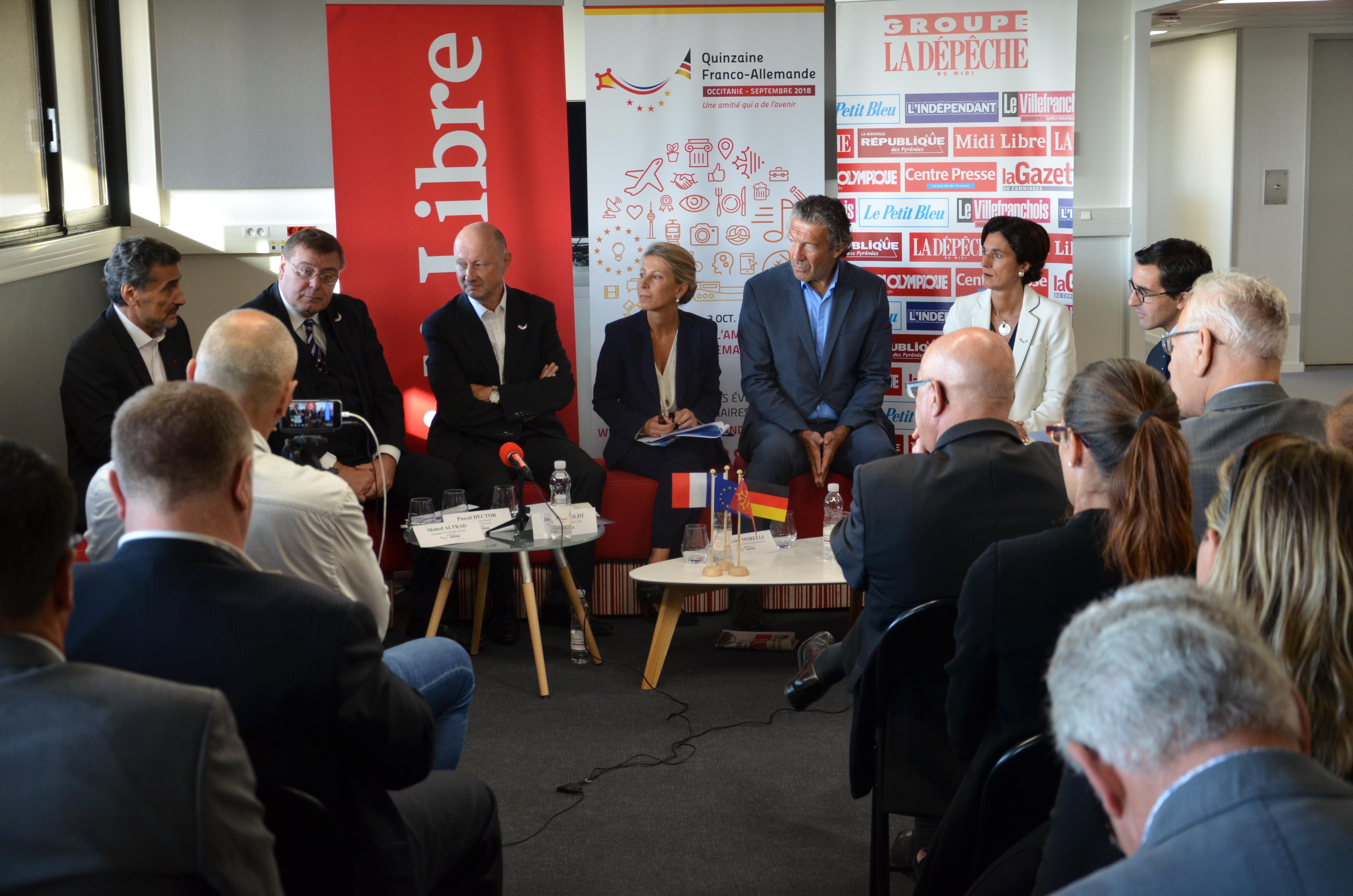débat économique quinzaine franco allemande