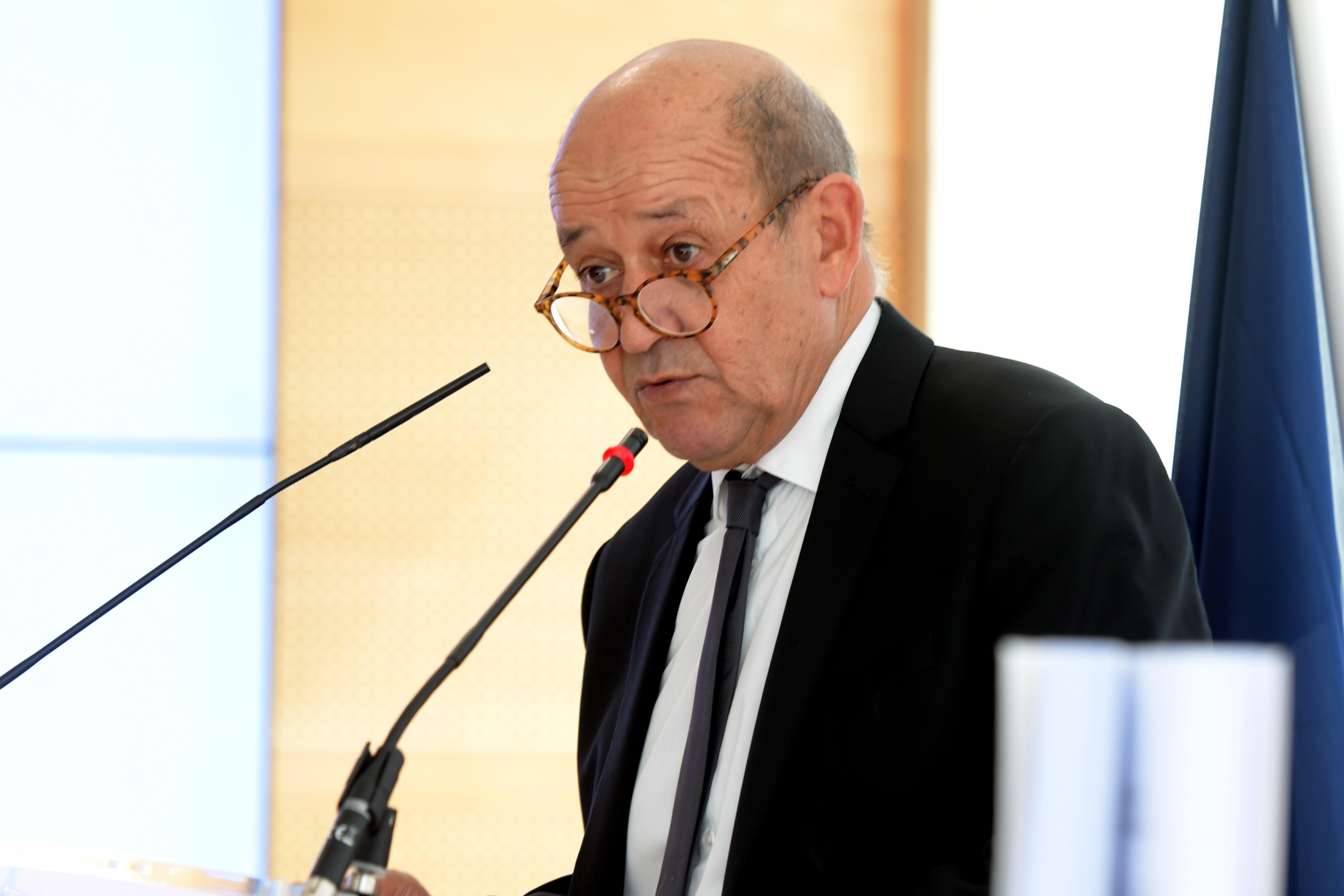 Monsieur le Ministre de l'Europe et des Affaires étrangères Jean-Yves Le Drian