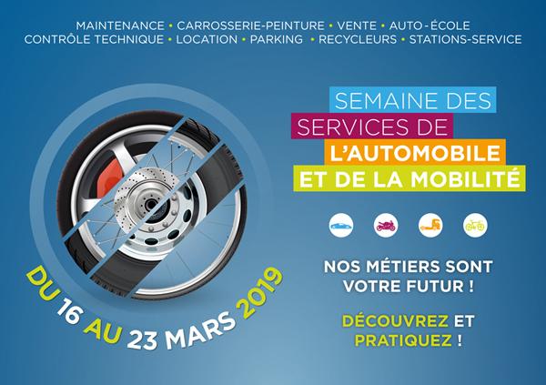 Semaine des Services de l'Automobile et de la Mobilité 2019