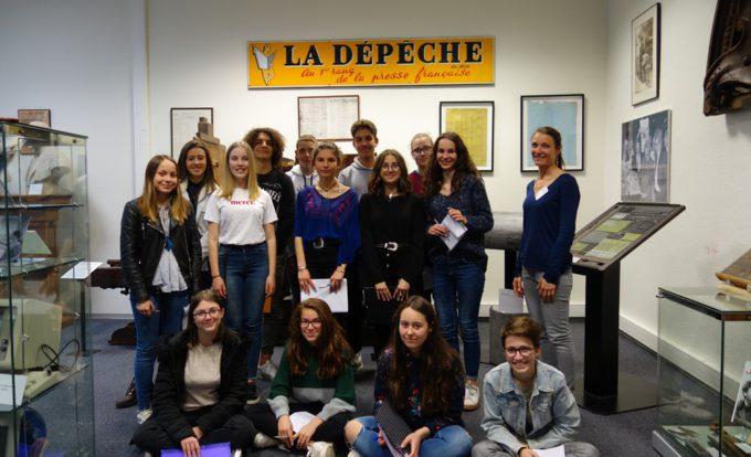 Visite de La Dépêche du Midi – Lycée Le Ferradou