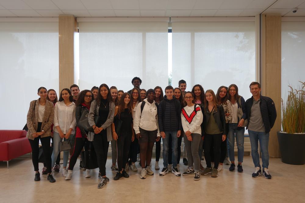Visite septembre Dépêche Lycée Rive Gauche Toulouse