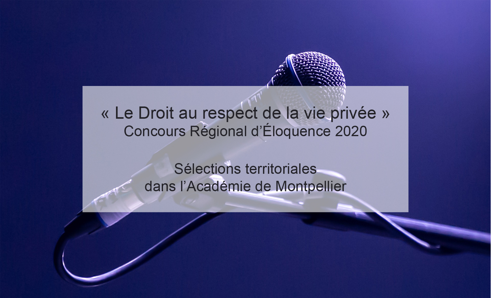 Sélections CRE Académie de Montpellier