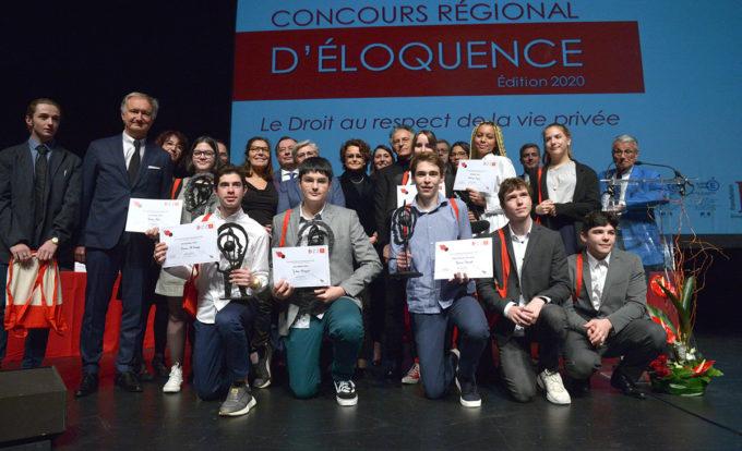 CONCOURS REGIONAL D ELOQUENCE CONCOURS REGIONAL D ELOQUENCE