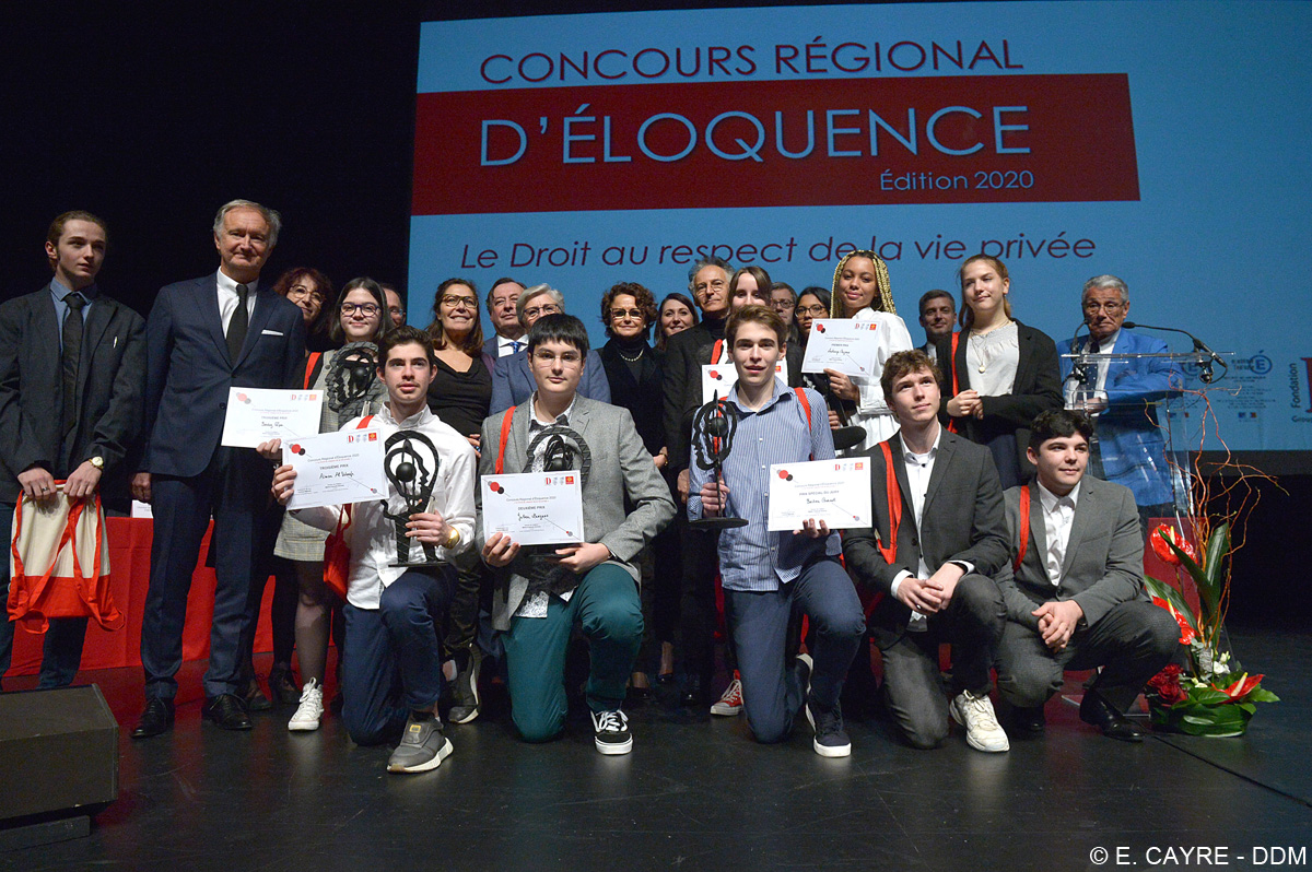 CONCOURS REGIONAL D ELOQUENCE CONCOURS REGIONAL D ELOQUENCE