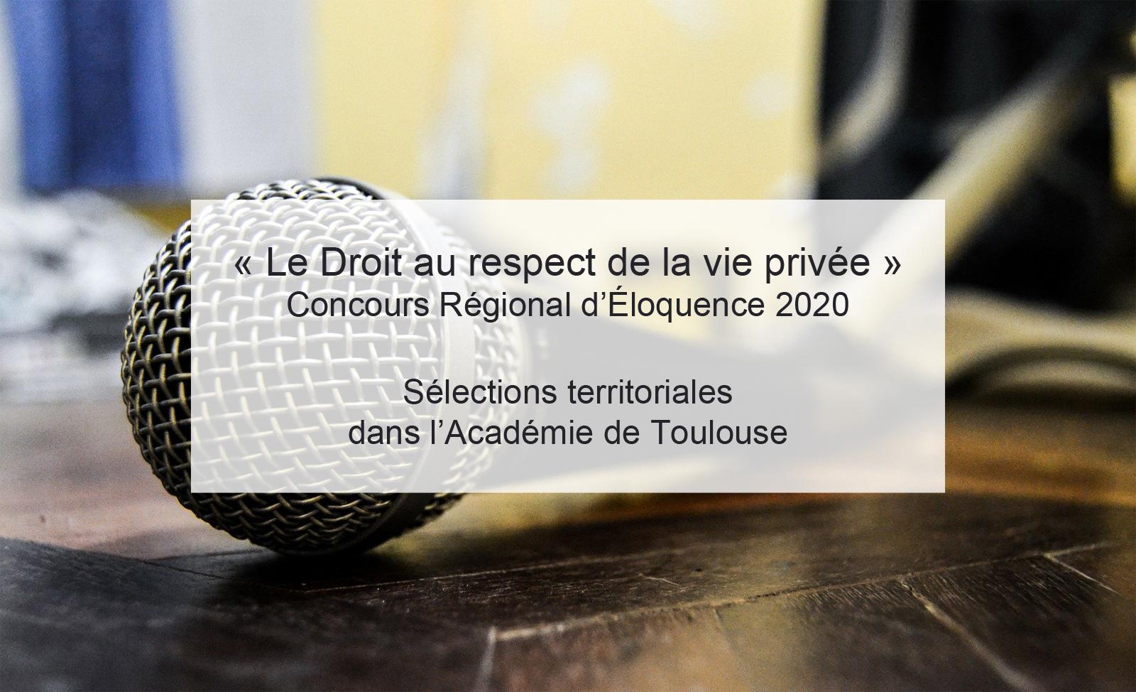 Sélections CRE Académie de Toulouse