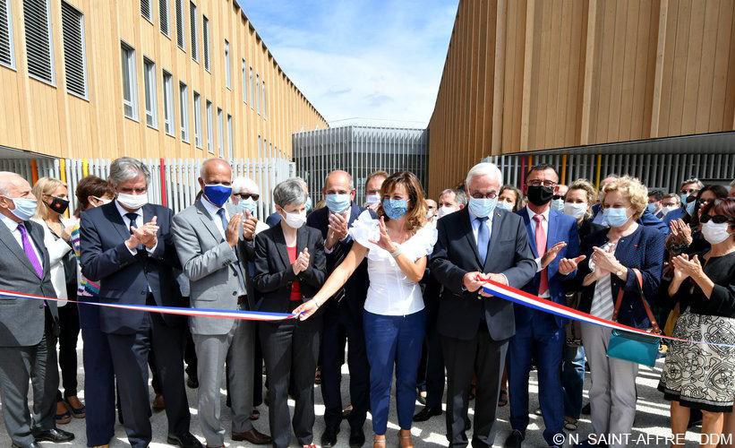 Inauguration lycée Cazères
